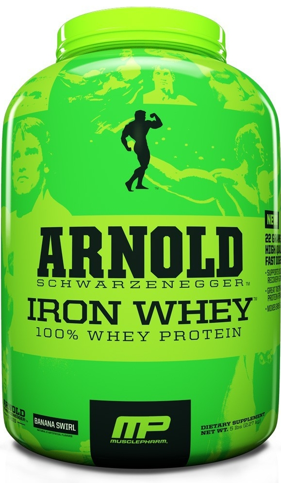 MusclePharm Arnold Series Iron Whey