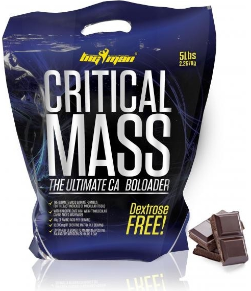 BigMan Nutrition Critical MASS