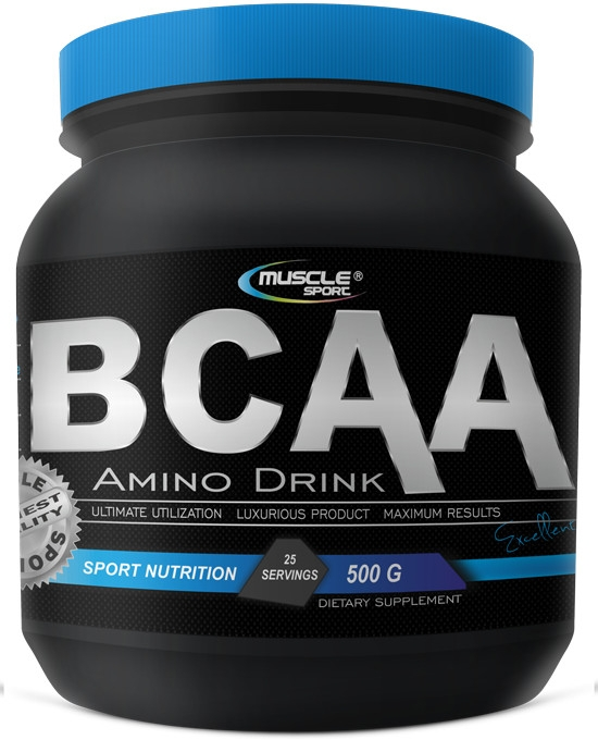 Muscle Sport BCAA Amino Drink 4:1:1