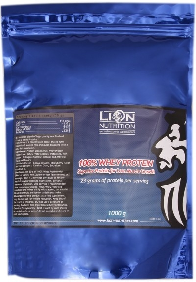 Lion Nutrition 100% Whey protein