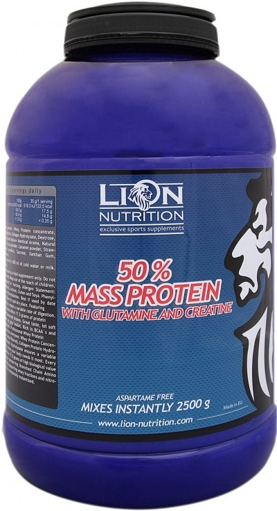 Lion Nutrition 50% Mass protein