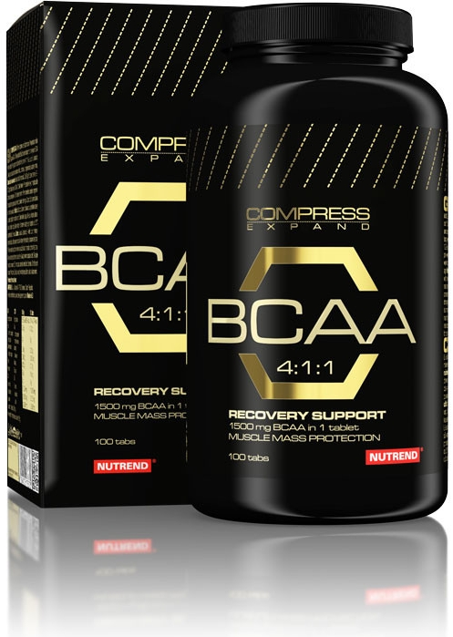 Nutrend Compress BCAA
