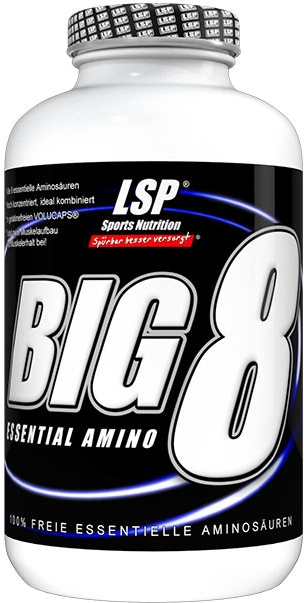 LSP nutrition BIG 8 essential amino