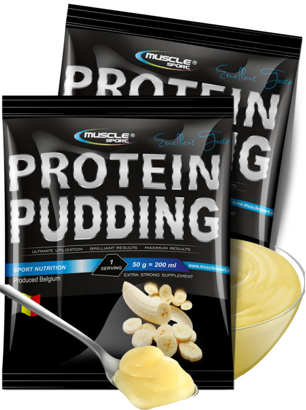 MUSCLE SPORT Protein Pudding