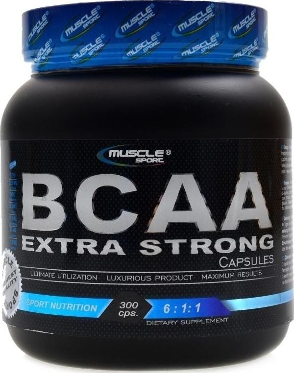 Muscle Sport BCAA Extra Strong 6:1:1 300 tablet